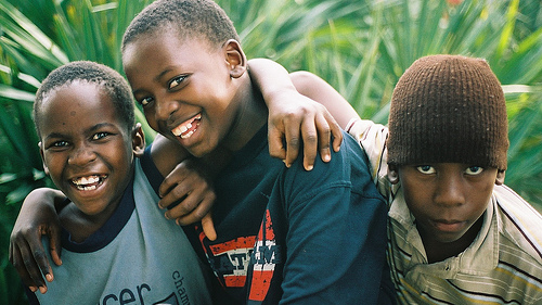 Children of Bantu Refugees